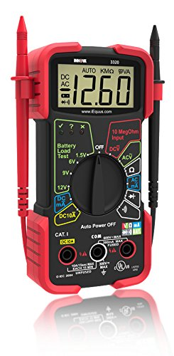Top multimeter