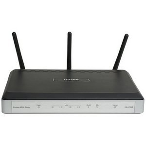 D-Link Wireless N300 DSL Modem Router DSL-2740B