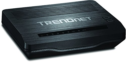 TRENDnet N300 Wireless TEW-722BRM Modem Router - Best Gaming Modem router