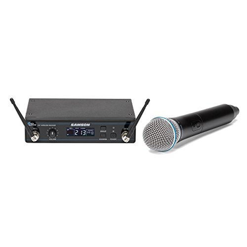 SamsonConcert 99 Handheld Wireless System- D Band- Experience The Worry FREE Wireless System - Best for churches