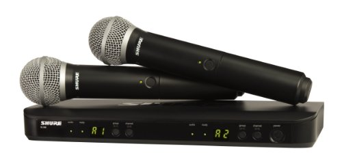 Shure BLX288/PG58 Wireless Vocal Combo with PG58 Handheld Microphones
