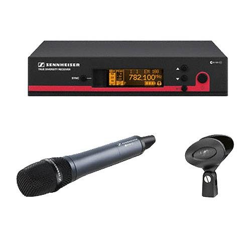 Sennheiser EW 135 G3-A-US handheld cardioid EW system - An Ideal choice to handle versatility of music