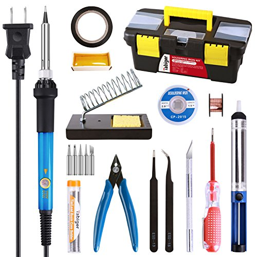 16-in-1 soldering Iron electronics kit toolbox
