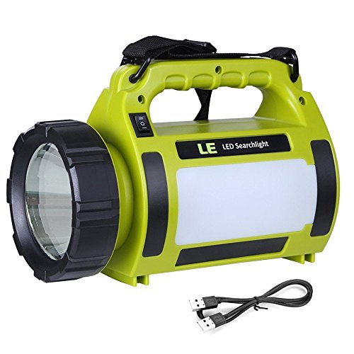 Lighting Ever Rechargeable Camping Spotlight