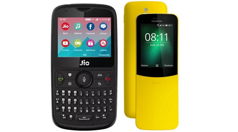 Jio Phone 2 vs Nokia 8110 Specs And Price Compared.