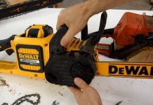 Dewalt V20 Chainsaw