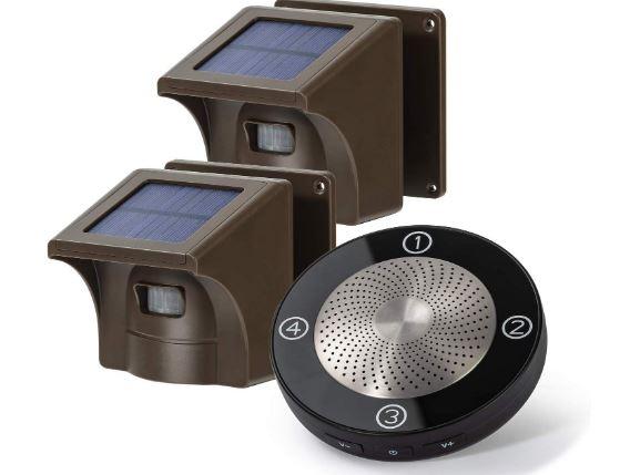 Solar Wireless Driveway Alarm