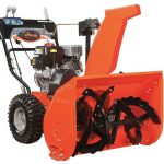 best easy to operate electric snow blower