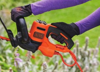 electric hedge trimmer review