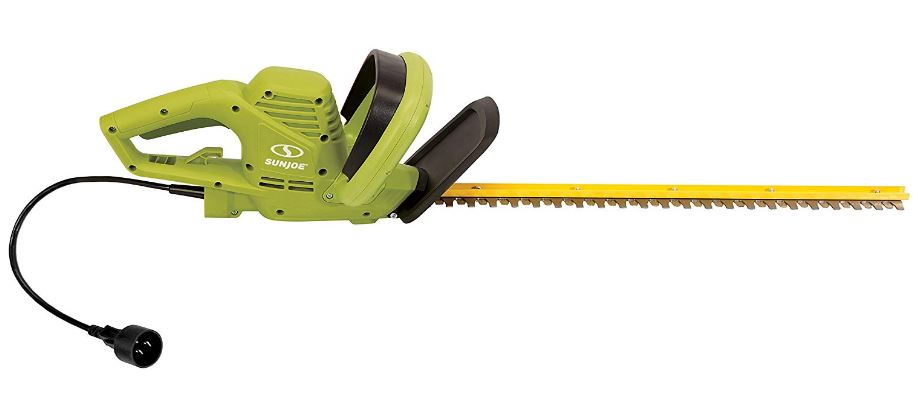 black hedge trimmer