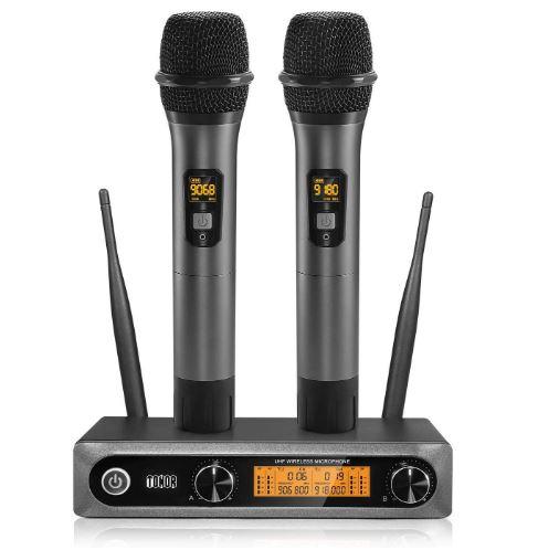 toner wireless microphone