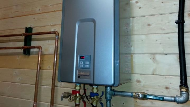 Tankless Gas Heater