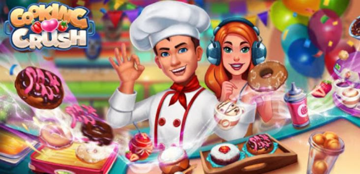 Cooking Crush - Be a Crazy Master Chef of Cooking Game