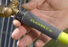 Lightweight and flexible Flexzilla Garden Hose - have a peace gardening
