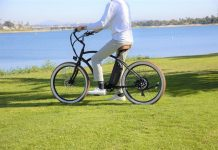 Riding electric bike