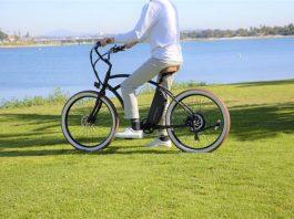 Riding electric bike